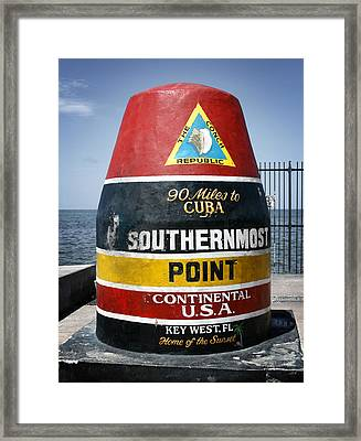 90 Miles Framed Print by Shane Rees