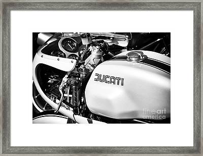900 Ss Custom Framed Print by Tim Gainey