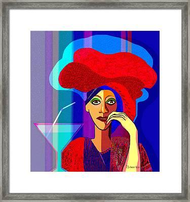 909 -   Summer   Cocktail Framed Print