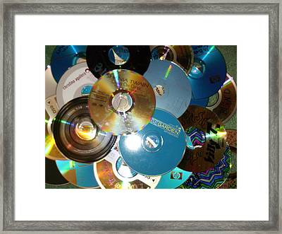 90's Collection Framed Print by Anne