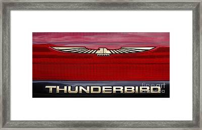 90s Thunderbird Framed Print