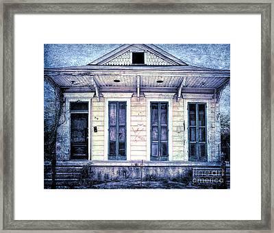910 Elysian Fields Nola Framed Print by Kathleen K Parker