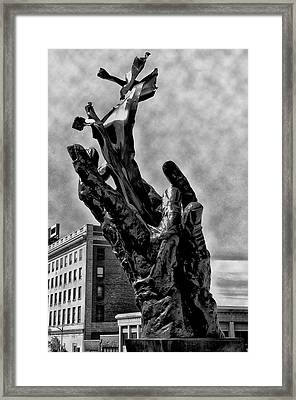 911 Memorial - Norristown Framed Print by Bill Cannon
