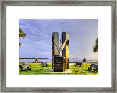 911 Memorial Framed Print by JC Findley