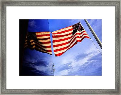911 Remembrance  Framed Print