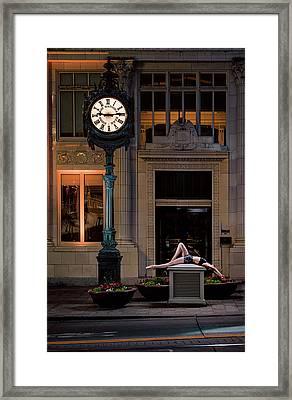 915 Framed Print