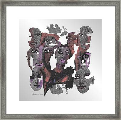 926 - Decomposition 2017 Framed Print by Irmgard Schoendorf Welch