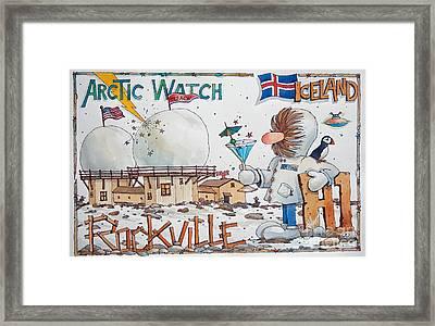 932 Acw H1 Rockville Framed Print