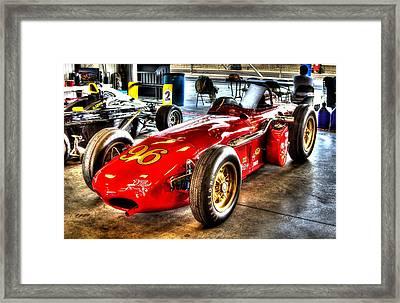 1961 Elder Indy Racing Special Framed Print by Josh Williams
