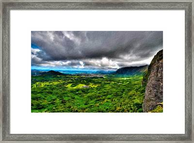 Landscape Nature Framed Print
