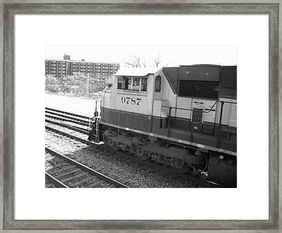 9787 Framed Print by Brad Hutchings