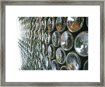 Framed Print featuring the painting 99 Bottles Of Beer On The Wall... by Martha Ayotte
