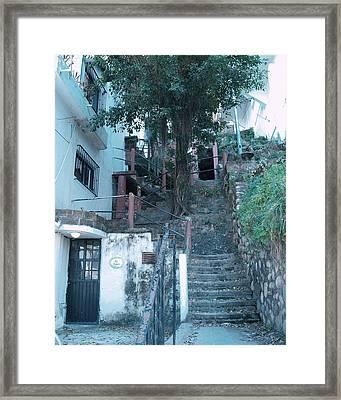 99 Steps Framed Print by James Johnstone