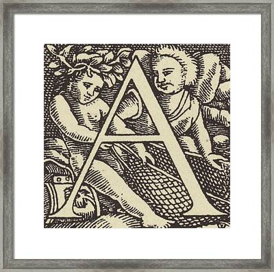 A         Framed Print by French School