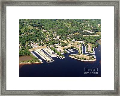 Framed Print featuring the photograph A-008 Afton Harbors 2 Minnesota by Bill Lang