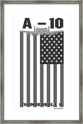 A-10 Patriot Framed Print