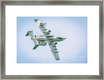 A-10 Thunderbolt II In A Roll Framed Print by Rene Triay Photography