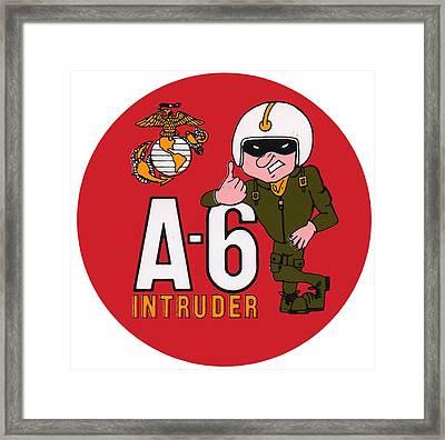 A-6 Intruder Framed Print