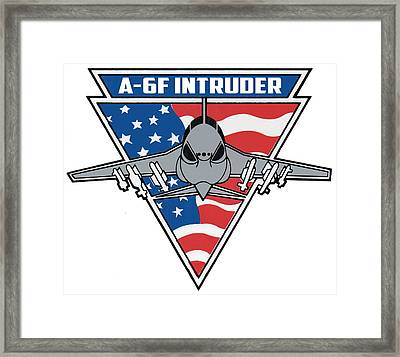 A-6f Intruder Framed Print