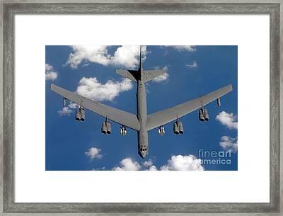 A B-52 Stratofortress Framed Print