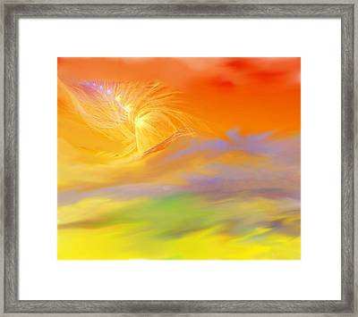 A Band Of Angels Coming After Me Framed Print