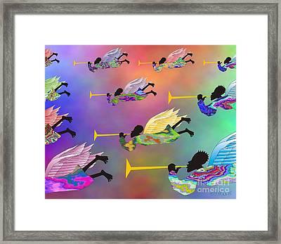 A Band Of Angels Framed Print