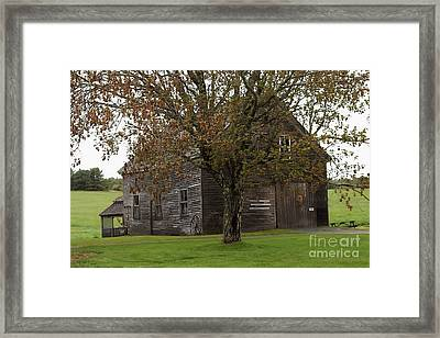 A Barn With History  # 3 Framed Print