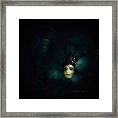 Framed Print featuring the digital art A Basement Apartment by Delight Worthyn