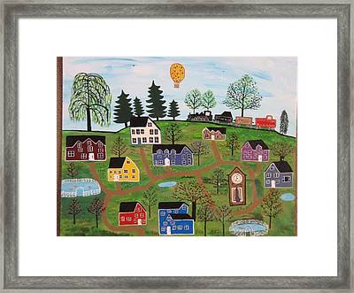 A Beautiful Day In Deltalareah Wexla Framed Print by Mike Filippello