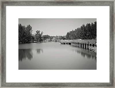 Framed Print featuring the photograph A Beautiful Day by Kim Hojnacki