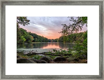 A Beautiful Drizzle  Framed Print