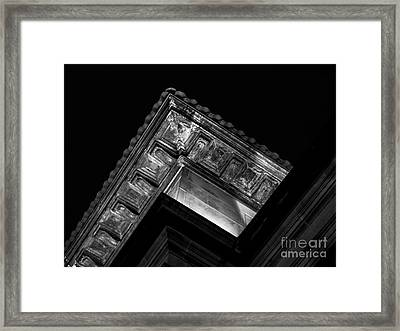 A Beautiful Eavening Framed Print