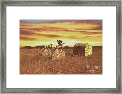 A Beautiful Morning Framed Print by Galambosi Tamas