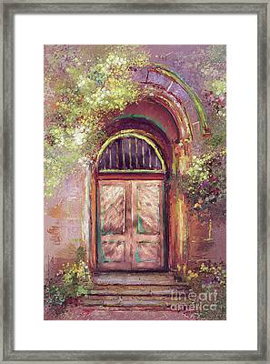 A Beautiful Mystery Framed Print by Lois Bryan