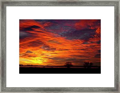 A Beautiful Valentines Sunrise Image Photo Framed Print by James BO  Insogna
