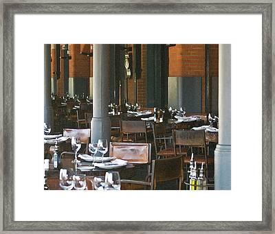 A Beautiful Venue Framed Print