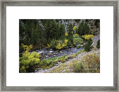 A Bend In The River Framed Print by Jon Burch Photography
