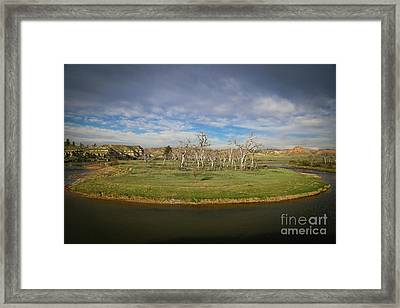 A Bend In The River Framed Print