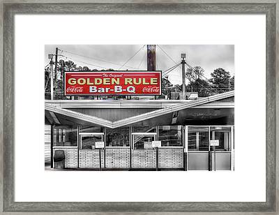 A Birmingham Tradition Since The 1800s Framed Print by JC Findley