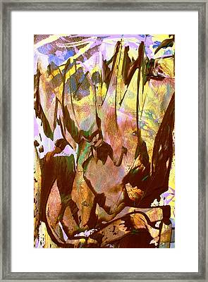 A Birthday Crown For Anneke Hut Framed Print by Bruce Combs - REACH BEYOND