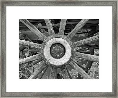 A Bit Of History Framed Print by Ron Kizer