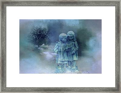 A Bit Of Magic Framed Print by Theresa Campbell