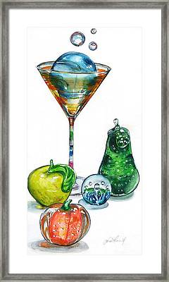 A Bit Of The Bubbly Framed Print by Jane Loveall