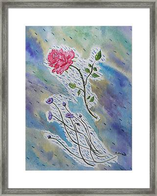 A Bit Of Whimsy Framed Print by Carol Crisafi