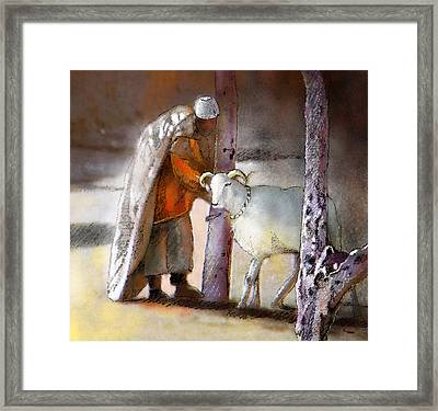 A Blessed Eid Framed Print by Miki De Goodaboom