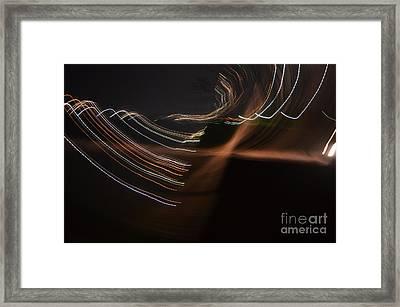 A Blink Of Light Framed Print by Eva Maria Nova