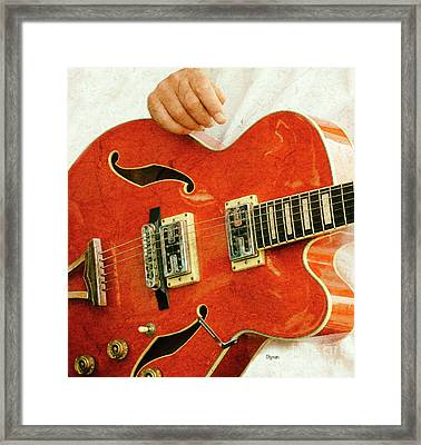 A Body Of Red  Framed Print by Steven Digman
