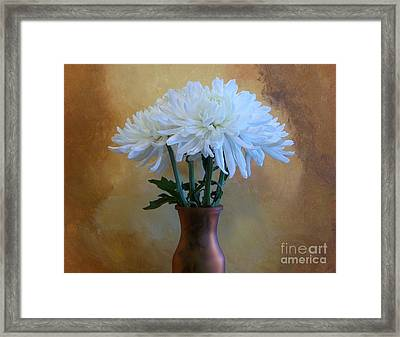A Bouquet For Mummy Framed Print