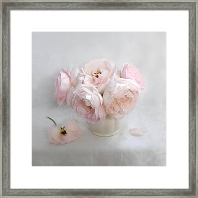 A Bouquet Of June Roses #2 Framed Print