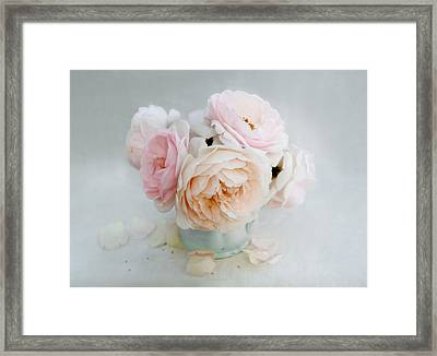 A Bouquet Of June Roses Framed Print